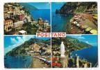 POSITANO  VEDUTE  VIAGGIATA  -- ANNI  60 - Italie