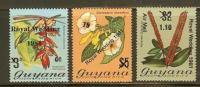GUYANA 1981 Royal Wedding 677-679 #6475 - Royalties, Royals