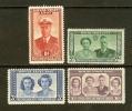 BECHUANALAND 1947 Hinged Stamp(s) Royal Visit 118-121 - Bechuanaland (...-1966)