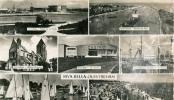 RIVA-BELLA-OUISTREHAM - Carte Multivues : Hôtel De La Plage / Entrée Du Port / Eglise / Casino / Phare / Voiliers - - Ouistreham