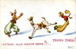 MILITARE PATRIOTTICA SATIRA CHECCA BEPPE 1914 STROPPA - Humour