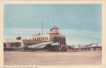 Dorval Aerodrome/ Airport , Montreal , Quebec , Canada , 1930-40s ,TCA Prop Airplanes - Montreal
