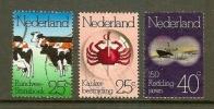 NED 1974 Serie Gelegenheid Zegels Gebruikt 1052-1054 - Period 1949-1980 (Juliana)