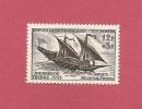 *  ( Réf  Perso  Fer ALB ) - YT France N°1093 . Neuf ** :  Journée Du Timbre - Felouque Du XVIIIéme Siècle - Dag Van De Postzegel