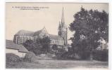 18223 SAINT - NICOLAS DE REDON - L' église Prise à L'ouest . 8 Chapeau Nantes - France