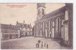 18244 SAINT-AUBIN-des-CHATEAUX Eglise Mairie -Café De France, Théophile Poulain. - Lemarre Enfant - France
