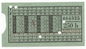 CZECH REPUBLIC - PRAHA, Bus, Old Ticket - Europa