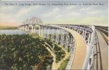 THE HUEY P LONG BRIDGE NEW ORLEANS LA CONNECTING NEW ORLEANS LA WITH THE GREAT WEST - New Orleans