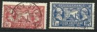 "FR YT 244 & 245 "" Légion Américaine "" 1927 Oblitéré - France"