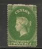 CEYLON  - 1861 Yvert # 15 - UNUSED (No Gum) - Ceylan (...-1947)