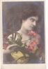 18288 Femme Fleur 1900 . . K.F. Paris, Série 2049