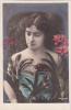 18289 Femme Fleur 1900 . . K.F. Paris, Série 2049 ; Photo H Manuel