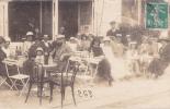 18294 Groupe Famille , Carte Photo, Café . Pantin ? Terrasse - Cafés