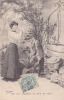 18296 Série Temps Des Cerises. Femme Puits. 2 Magnifiques Dirait Rubis - Femmes