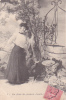 18298 Série Temps Des Cerises. Femme Puits. 4 Ferais Des Pendants D'oreilles - Femmes