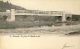 Merlreux - Le Pont Du Chemin De Fer- 1907 ( Voir Verso ) - Hotton