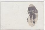 18313 Carte Photo, Bicyclette, Signée René Olivier.