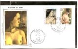 FDC  ITALIA FDC 2000 MALATTIE DEL SENO  SASSONE 2452/53 SERIE FILAGRANO GOLD PRIMO GIORNO DI EMISSIONE  FIRST DAY ITALY - FDC