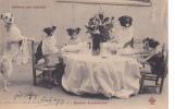 18316 Repas De Noces . Chien Chiens ; Bonnes Dispositions ! Ouvrard Biarritz CCCC Trefle.