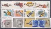 ROUMANIE - 15 Timbres** Et Obli à 5 Cts Le Timbre - 1948-.... Republics