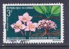 Congo, Brazzavile, Scott # 224 Used Flower, 1970 - Congo - Brazzaville