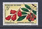 Congo, Brazzavile, Scott # 225 Used Flower, 1970 - Congo - Brazzaville