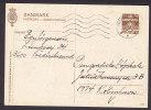 Denmark Postal Stationery Ganzsache Entier 60 Øre Waves Wellenlinien (213) Deluxe FREDERIKSSUND 1974 - Postal Stationery