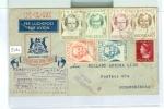 LUCHTPOST BRIEF KLM Uit 1946 PROEFVLUCHT KLM ARNHEM Naar JOHANNESBURG  (5161) - Period 1891-1948 (Wilhelmina)