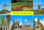 (AKE 31) Esperanto Card About The Netherlands - Esperanto