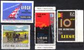BELGIUM - Liege Poster Stamps - Belgio