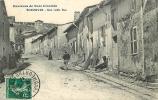 ECROUVES : Une Vieille Rue, Environs De Toul. 2 Scans. - France
