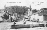 PIERRE PERCEE : La Fontaine Du Village. 2 Scans. Edition Cuny - France