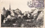 45 CHATILLON Sur LOIRE   (  PHOTO BELTIER  )   Maisons EGLISE Et Son Presbytère En 1954 - Chatillon Sur Loire
