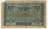 MAROC  PROTECTORAT  -  FRENCH  MOROCCO  -  5 Francs  -  P.9 - Marruecos