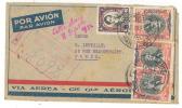 Chili - Pli Recommandén°8092 Par Avion De Santiago 09/09/1932 Pour Paris - Verso Oblit. Paris X 20/09/193232 - Chili