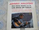 Johnny Hallyday 30 Cms Tres Bon Disque Et Pochette - Vinyles