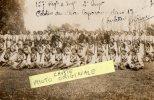 TULETTE  26  CARTE PHOTO MILITAIRE 14  18  PELOTON ELEVES CAPORAUX 157EME REG  CLASSE 1917 - Zonder Classificatie