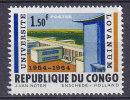Democratic Republic Of Congo 1964 Mi. 156     1.50 Fr Lovanium-Universität, Leopoldville MNH** - Dem. Republik Kongo (1964-71)
