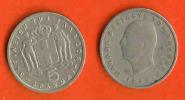 GREECE 1954 Coin 5 Drachma Copper-Nickel KM83 C403 - Griekenland