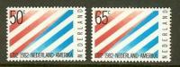NEDERLAND 1982 MNH Stamp(s) US Friendship 1207-1208 #7034 - Unused Stamps
