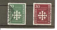 Alemania-Germany Nº Yvert  109-10 (usado) (o). - [7] República Federal