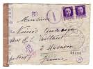 Italie Nimis Udine Censure Victor Emmanuel III 1942 Verificato Per Censura - 1900-44 Victor Emmanuel III