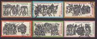 18-970 // 1975  BULGARISCHE GESCHICHTE  MiNr 2442/47 O - Used Stamps