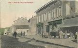 JOEUF : Haut De La Rue De Franchepré, Quincaillerie, Draperie. Colorisée. 2 Scans. - France