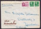 Norway Airmail Par Avion HOLMENKOLLEN TURISTHOTELL, OSLO 1948 Cover To Sweden - Briefe U. Dokumente