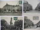 7 Cpa Sur Lens, Rue De Lille, Rue De La Gare, La Place Verte, Rue De La Paix, Boulevard Des écoles . Voir Scan, 6 De Sca - Lens