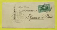 Servizio Elettorale Lettera Dal Comune Di Bardonecchia Per S.Germano Dei Berici 11/12/1930 - Italie