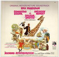 * LP *  DOCTOR DOLITTLE (Original Soundtrack) - REX HARRISON /SAMANTHA EGGAR A.o. (USA 1967 Ex-!!!) - Filmmuziek