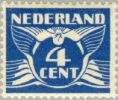 1941 (serie 1926) Vliegende Duif 4 Ct Rasterdiepdruk NVPH 176Bb Postfris/MNH/** - Non Classificati