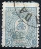IRAN 1889 - 5 Ch In Colour Of 2 Ch (error) - Iran